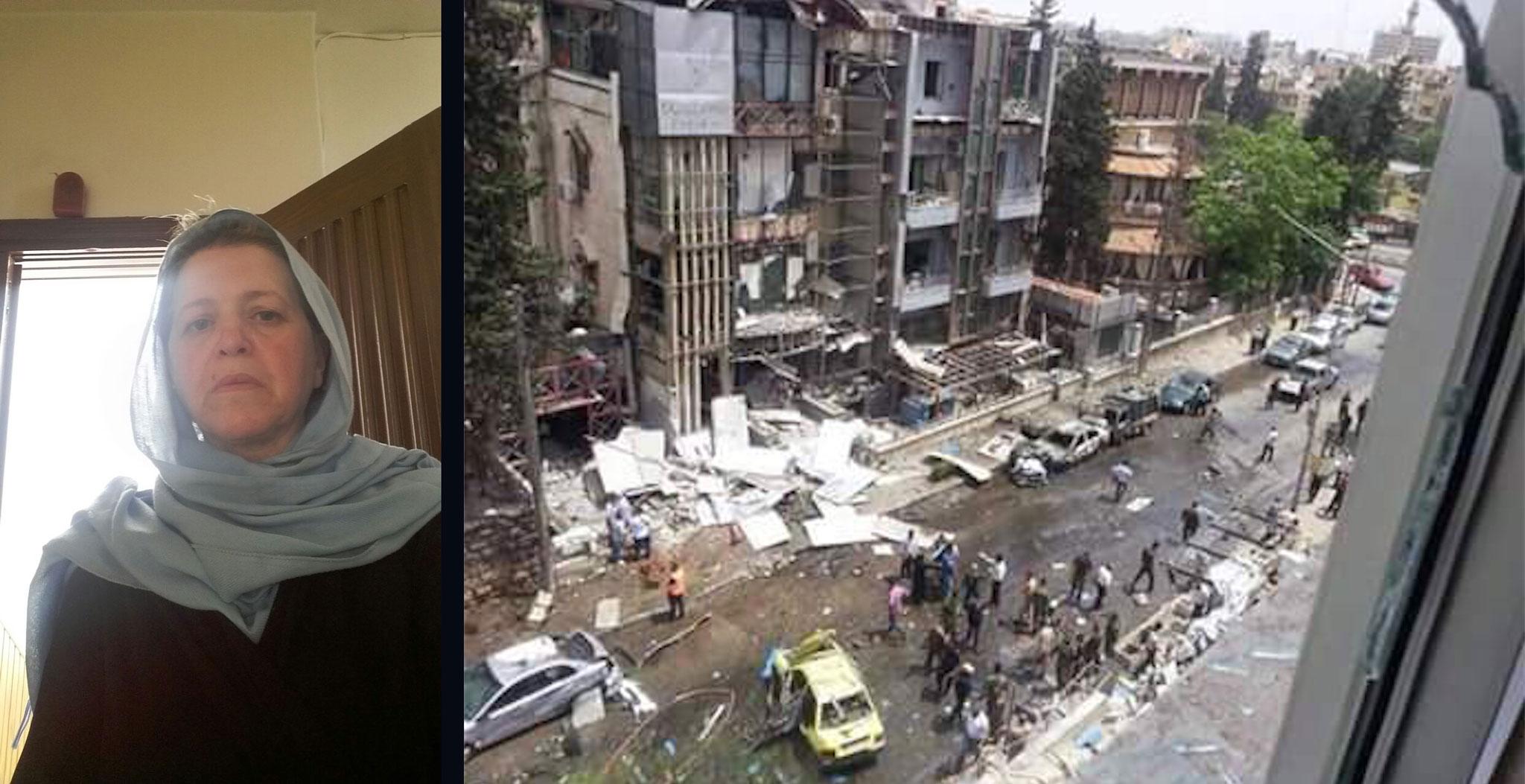 Aleppo, heute früh …