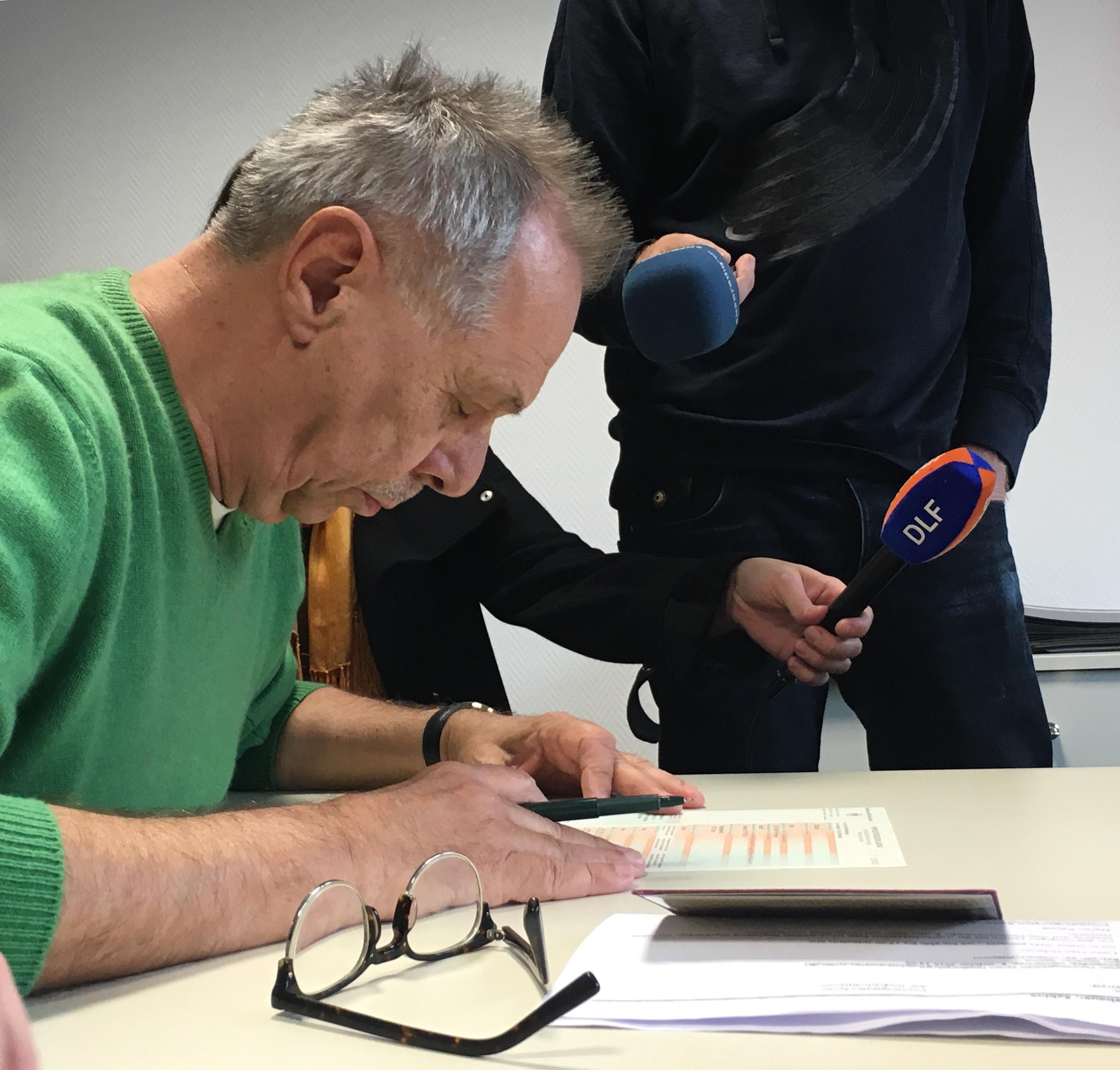 Berlinale-Direktor Kosslick: Eine Unterschrift, die ein Leben rettet.
