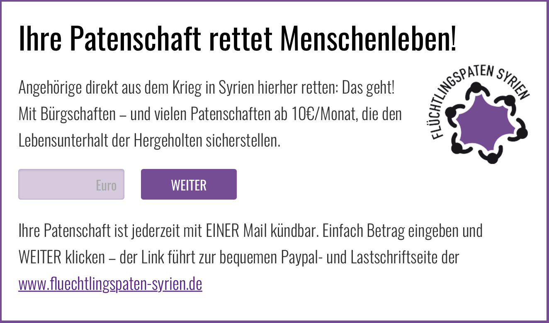 Auf Ihrer Webseite: Das Widget.