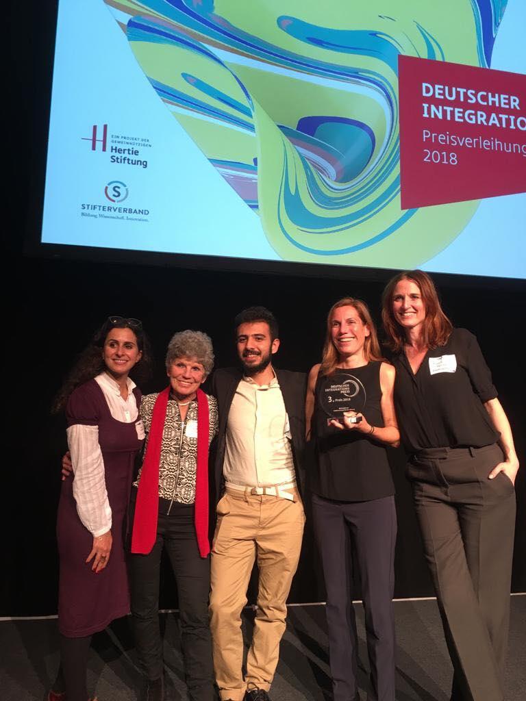 3. Platz beim Deutschen Integrationspreis