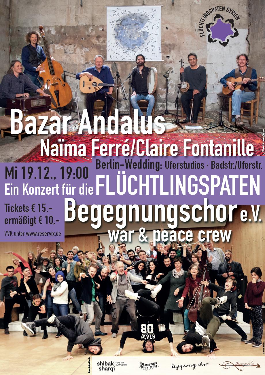 Ein Konzert für die Flüchtlingspaten Syrien
