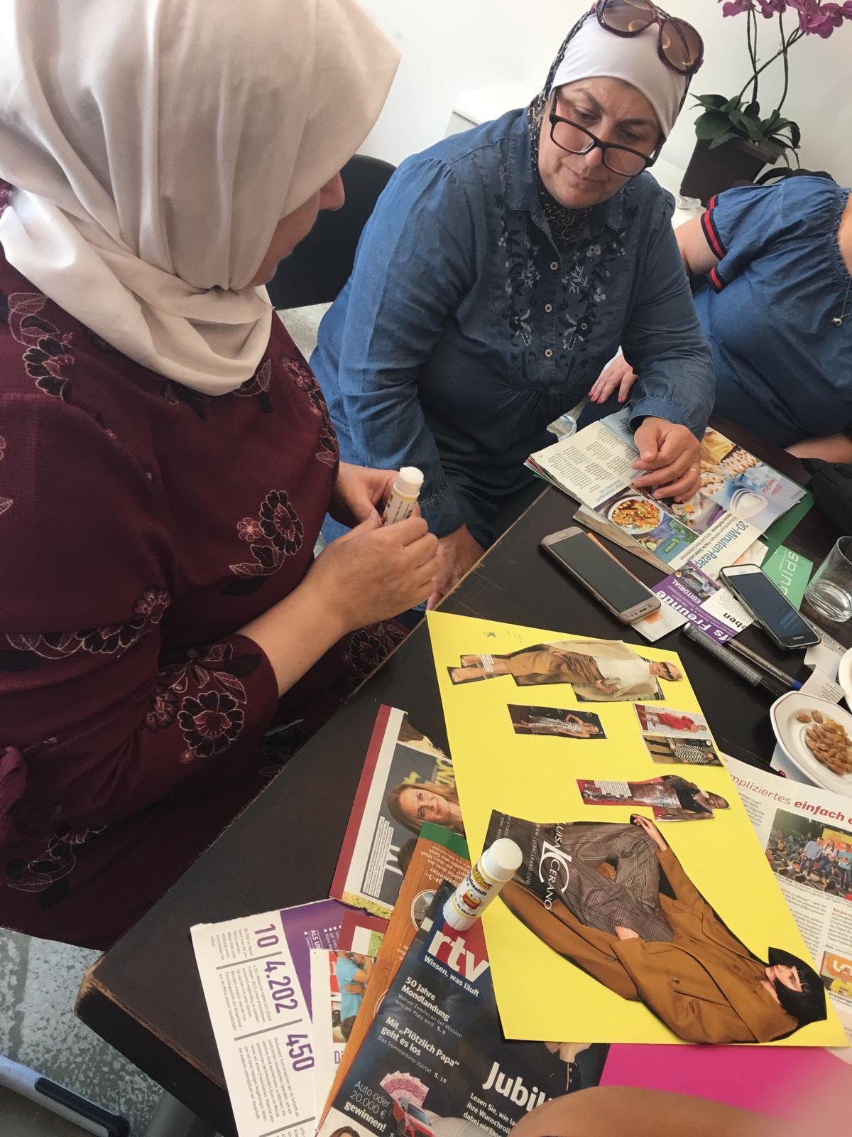 Flüchtlingspaten-Empowerment-Crew